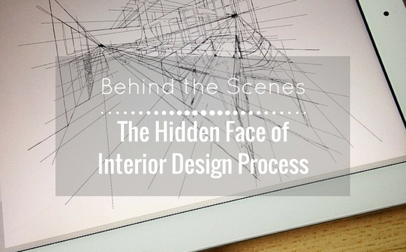 The hidden face of interior design process