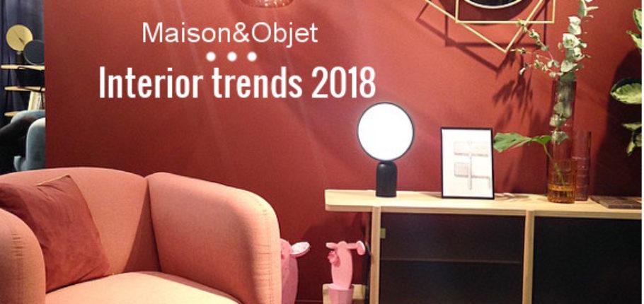 Maison&Objet: interior trends 2018