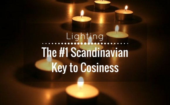 The #1 scandinavian key to cosiness : Candlelight