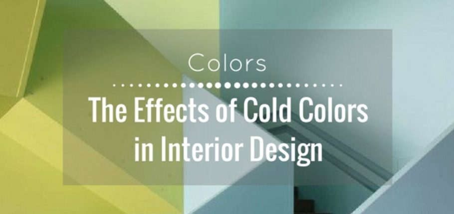 The effects of cold colors in interior design