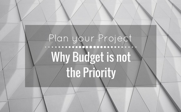 Why Budget is not the priority in renovation