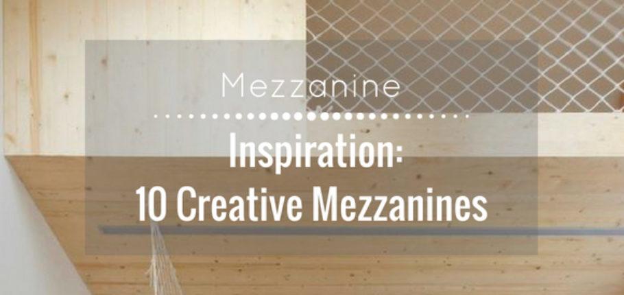 Inspiration: 10 creative mezzanines
